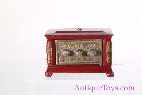 Kenton Cast Iron Combination Coin Bank