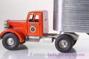 Smith Miller Aluminium Truck Toy with Trailer