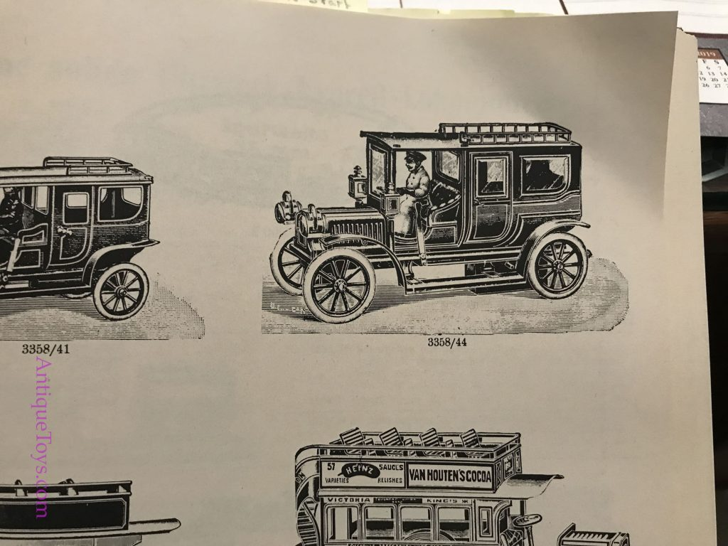 Early Race and tin windup cars made in Germany.  Example toys wanted.