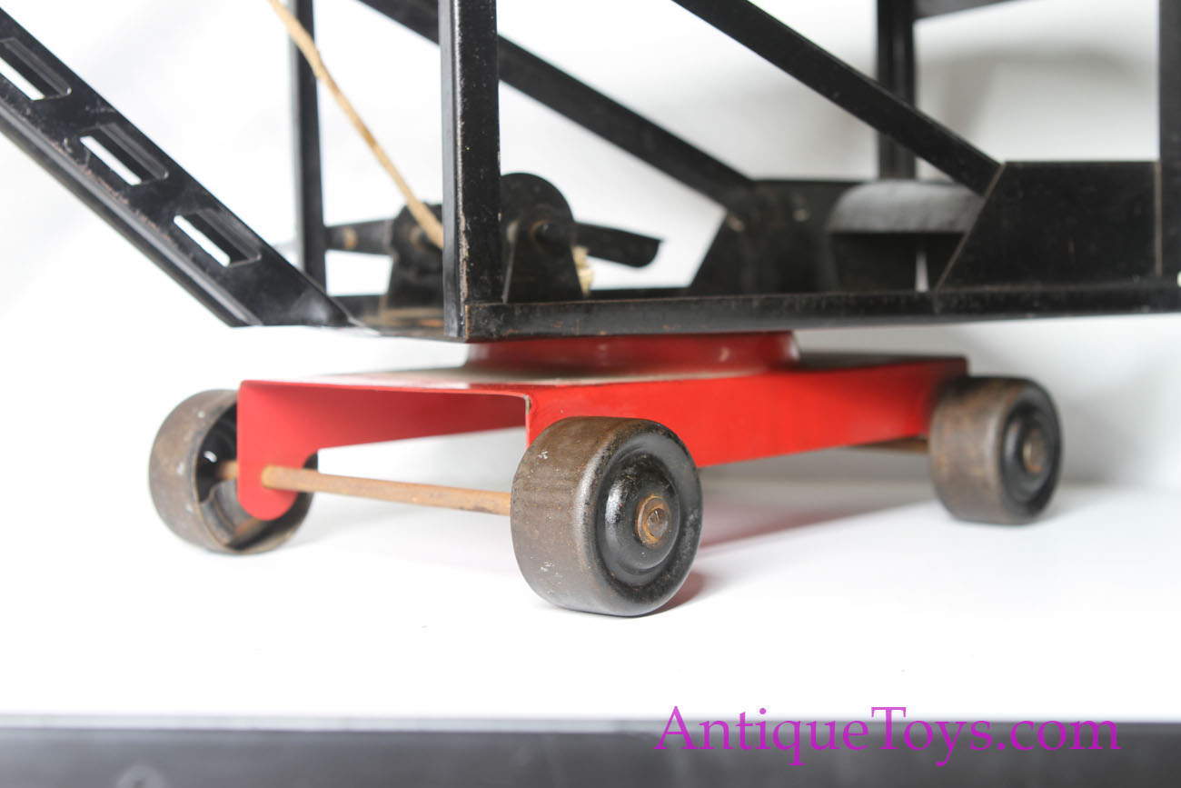 Pressed Steel Keystone Steam Shovel For Sale Antique