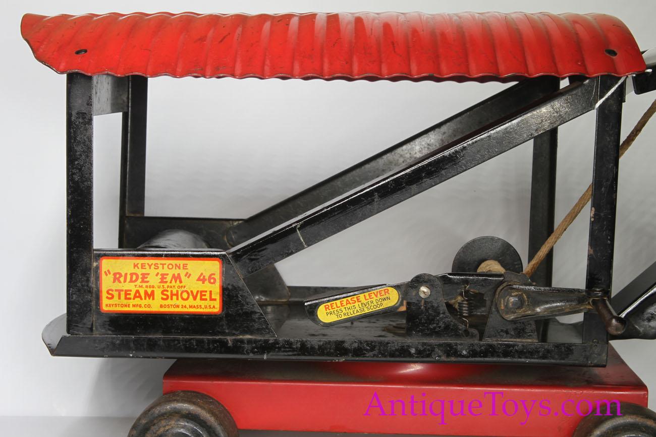 Pressed Steel Keystone Steam Shovel for Sale