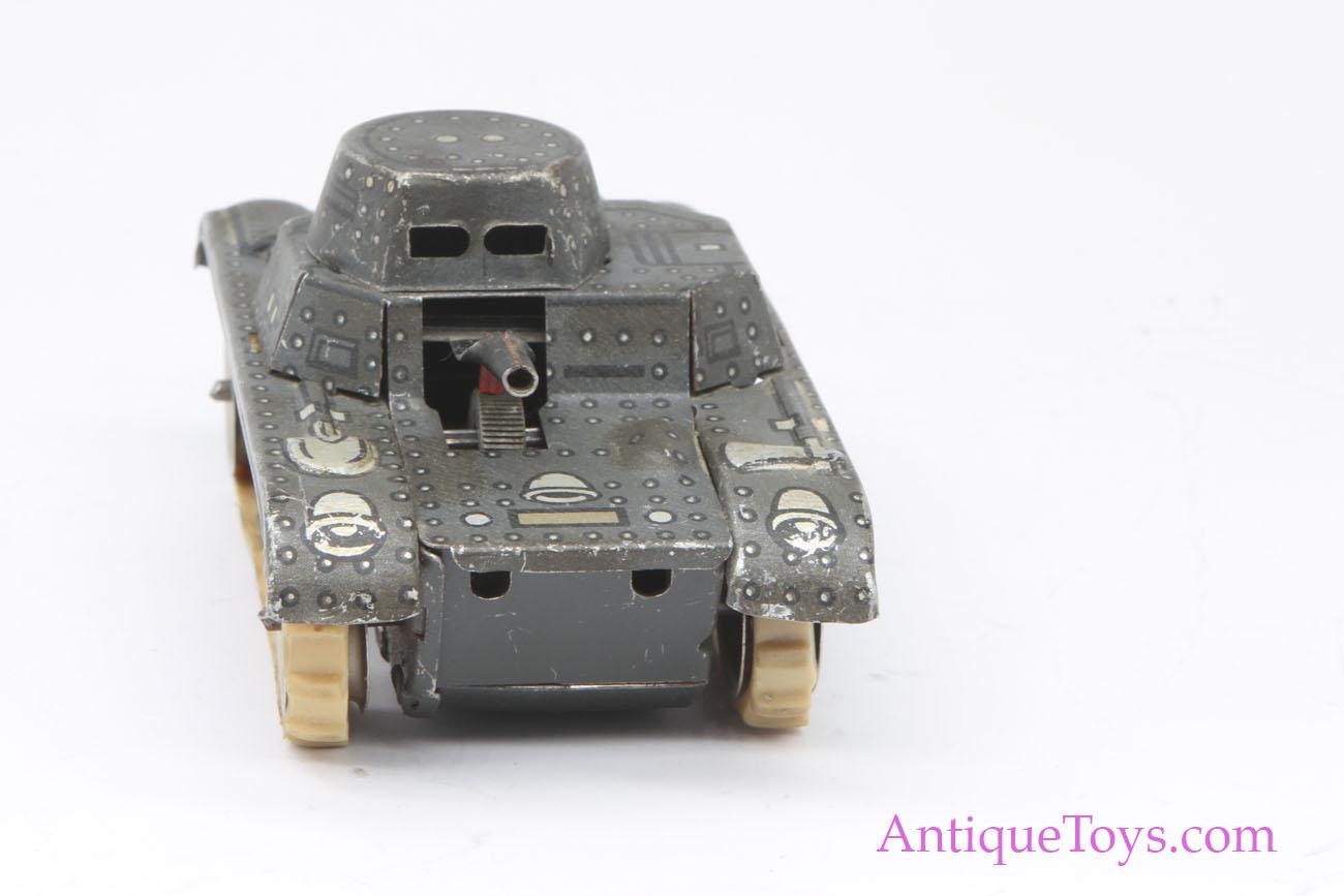 Vintage Gama German Tin Tank Windup Toy for Sale