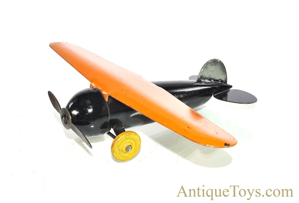 Wyandotte airplane original steel propeller