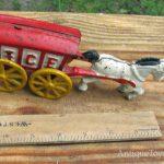 fake cast iron toy